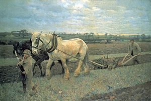 George Clausen - Image: George Clausen Ploughing