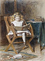 George Goodwin Kilburne The new book 1870.jpg