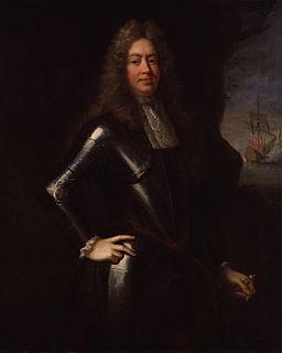 George Legge, 1st Baron Dartmouth English naval commander