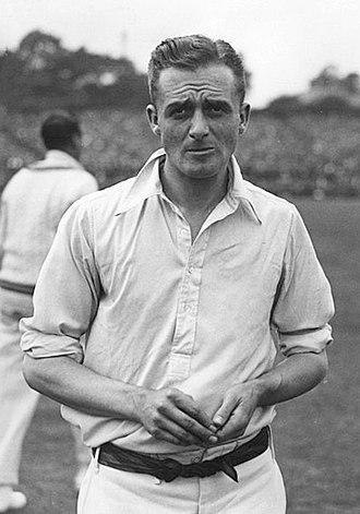 George Macaulay - Macaulay at the third Test vs. Australia at Headingley Stadium in 1926