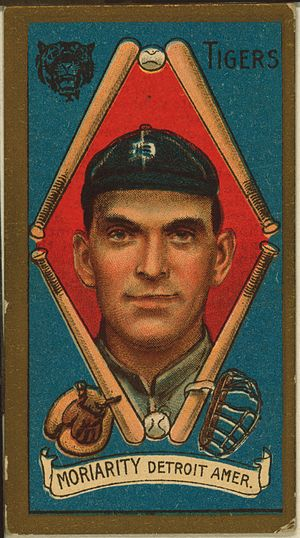 1909 Detroit Tigers season - George Moriarty