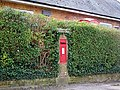 George VI postbox, Puddletown - geograph.org.uk - 1179005.jpg