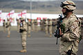 Georgian 31st Light Infantry Battalion joins the ISAF (2010).jpg