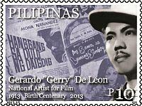 Gerardo de León 2013 stamp of the Philippines.jpg