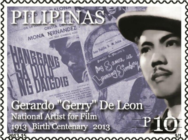 Gerardo de León 2013 stamp of the Philippines