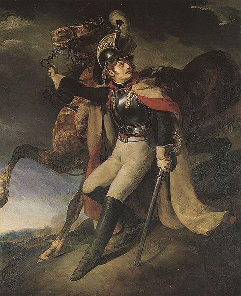 ファイル:Gericault Theodore 1814 Verwundeter Kuerassier verlaesst das Schlachtfeld.jpg