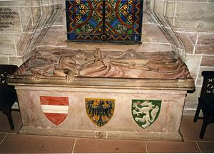 Gertrude of Hohenberg - Tomb in Basel Minster