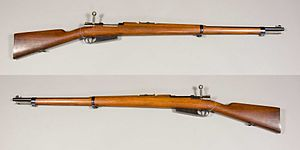 Mauser - Mauser Experimental Model 92 in caliber 8x58R. This rifle took part in the rifle trials that led to the Swedish Mauser.