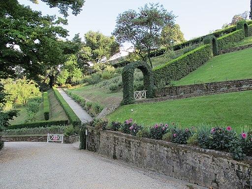 Firenze, Giardino Bardini, giardino a terrazze