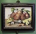 Giovanna garzoni, piatto di fichi con gelsomini e pere (pitti), 1642-51 ca..JPG