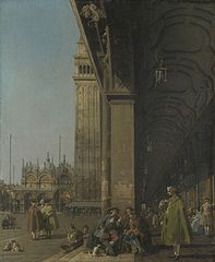Piazza San Marco:Looking East from the South West Corner