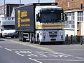 Gipping Transport Renault Tractor and trailer, London E10 - Flickr - sludgegulper.jpg