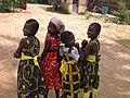 Girls of a small berom village in Jos City.JPG