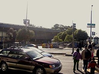 Glen Park, San Francisco - The Glen Park BART station at Bosworth