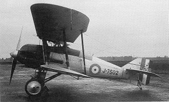 Gloster Gamecock - Gamecock fitted with Napier Lion engine, 1925-6