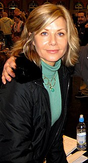 Glynis Barber South African actress