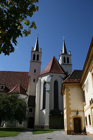 Göss Abbey - Church of the former abbey