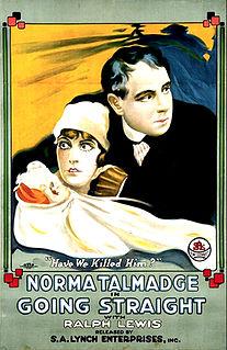 <i>Going Straight</i> (1916 film) 1916 film by Sidney Franklin, Chester M. Franklin, Millard Webb