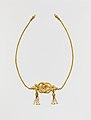 Gold fillet with a Herakles knot MET DP166007.jpg