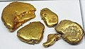 Gold fluvial pebbles (placer gold) (Washington State, USA) 7 (17035114105).jpg