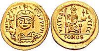 Gold solidus, Byzantine, Justin II, 565-578.jpg