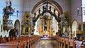 Golub-Dobrzyń, Polska - widok wnętrza kościoła św.Katarzyny (zdjęcie z plakatu przed kościołem) - panoramio.jpg