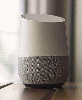 Voice-enabled smart speaker developed by Google