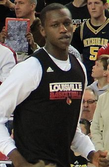 Louisville Cardinals basketball player Gorgui Dieng