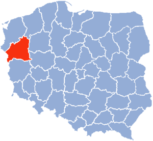 Gorzów Voivodeship - Gorzów Wielkopolski Voivodeship