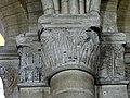 Gournay-en-Bray (76), collégiale St-Hildevert, bas-côté nord, chapiteaux du 3e pilier libre, côté nord.jpg
