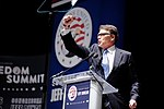 Governor of Texas Rick Perry at Citizens United Freedom Summit in Greenville South Carolina May 2015 by Michael Vadon 16.jpg