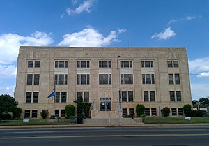 National Register of Historic Places listings in Grady County, Oklahoma - Image: Grady County Courthouse