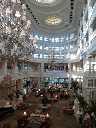Disney's Grand Floridian Resort & Spa - Image: Grand Floridian lobby