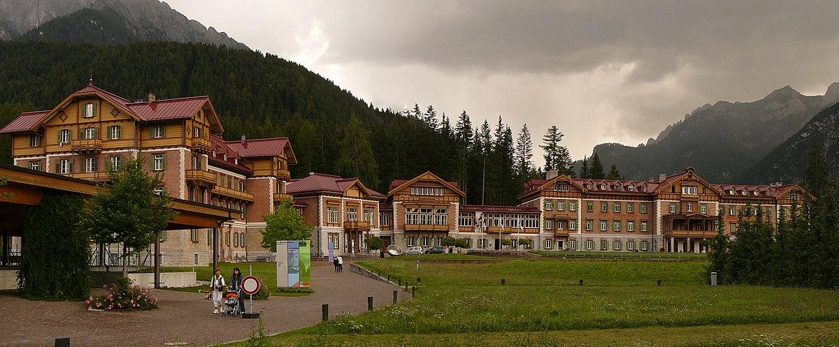 Grand hotel toblach wikipedia for Dobbiaco soggiorno aeronautica