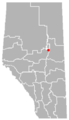 Grassland, Alberta Location.png
