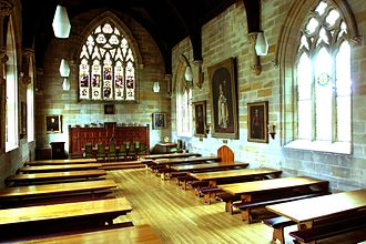 St John's College, University of Sydney - The Great Hall (dining hall)