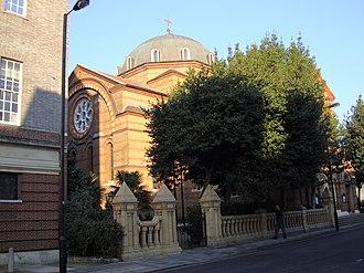 Greeks in the United Kingdom - St Sophia's Cathedral, London, the main Greek Orthodox church in the United Kingdom