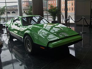 Bricklin SV-1 - Green Bricklin