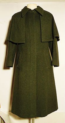Polyester Jas Warm.Loden Cape Wikipedia