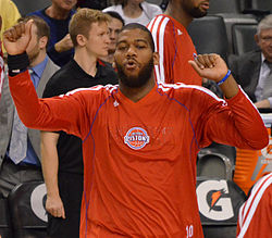Greg Monroe Player Introductions (cropped).jpg