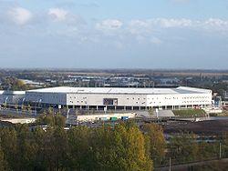 Groningen - Voetbalstadion Euroborg in vogelvlucht.jpg