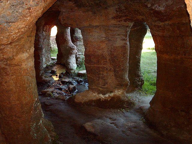 Flores - Las Cuevas de Palacio (Paisajes de Uruguay)