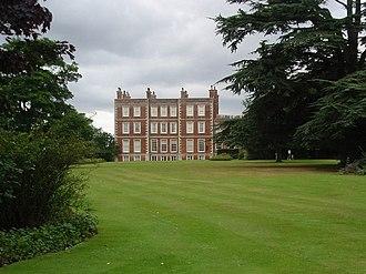 Archibald Montgomery-Massingberd - Gunby Hall, Montgomery-Massingberd's home in Lincolnshire