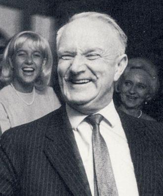 Minister for Home Affairs (Sweden) - Image: Gunnar Hedlund 1966