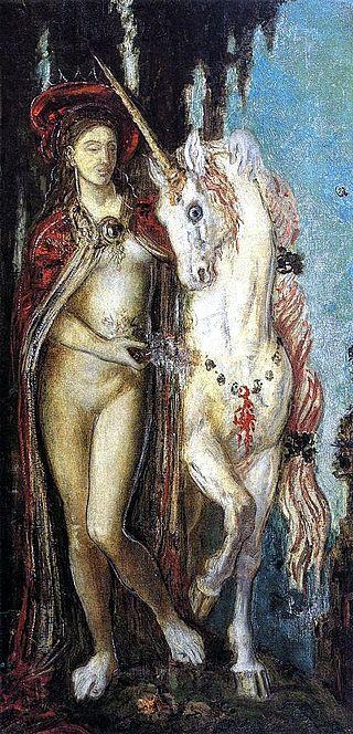 Gustave Moreau - Unicorn (1885).jpg
