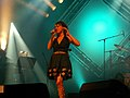 Gwennyn en première partie de Denez Prigent au Festival de Cornouaille en 2007..jpg
