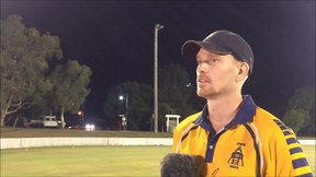 File:Gympie Gold XI defeat Maroochydore in T20 Final- Josh Brady Presser video.webm