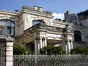 Communauté d'agglomération Pau Béarn Pyrénées - The Hôtel de France is the seat of the communauté.