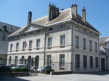 Bâtiment de l'hôtel des douanes de Chambéry