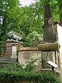 Hřbitov - Olšanské hřbitovy (Žižkov), Praha 3, Vinohradská, Želivského, Jičínská, Žižkov - oddíl I (nejstarší část hřbytova).JPG